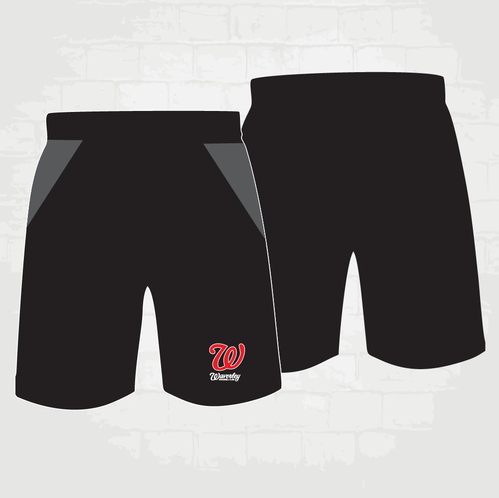 Black Shorts - W logo