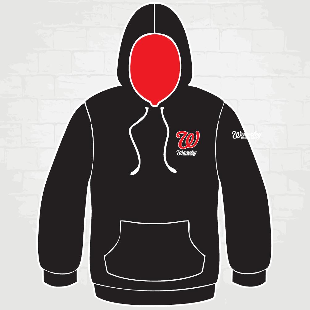 Black Hoody - W logo